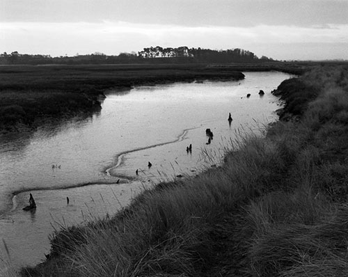Estuary at Dusk, East Anglia 4, Copyright ⓒ 2008 Cate McRae; All Rights Reserved reserved