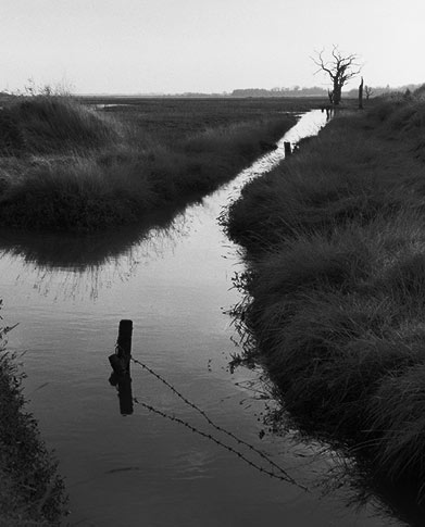 Full Tide, East Anglia, Copyright ⓒ 2008 Cate McRae; All Rights Reserved reserved